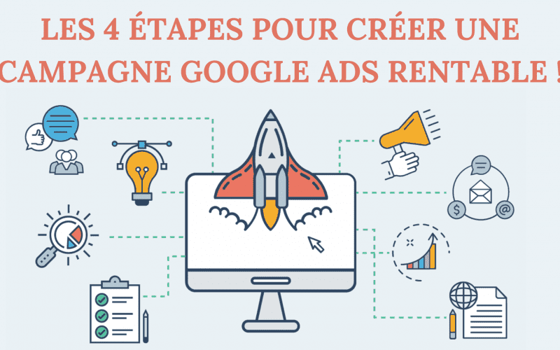 Les 4 étapes pour créer une campagne Google Ads rentable ! 4