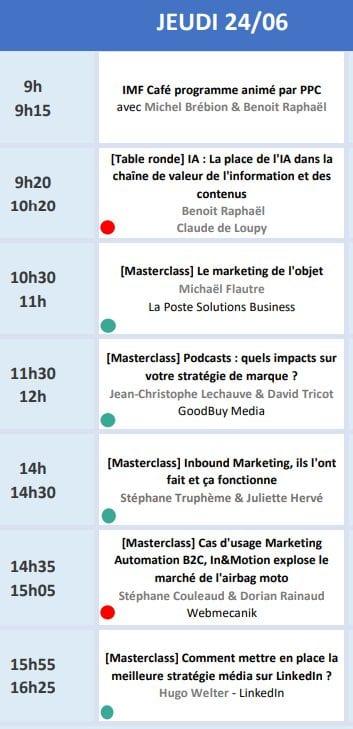 RDV le 22 Juin avec Seth Godin lors de l'Inbound Marketing France 2021 + ma conférence Social Selling & Growth Hacking 13