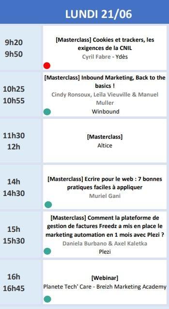 RDV le 22 Juin avec Seth Godin lors de l'Inbound Marketing France 2021 + ma conférence Social Selling & Growth Hacking 10