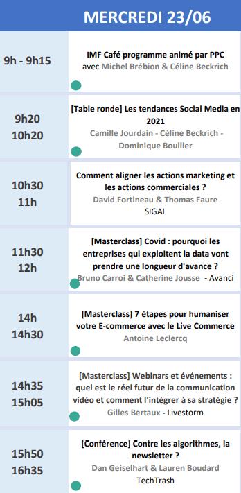 RDV le 22 Juin avec Seth Godin lors de l'Inbound Marketing France 2021 + ma conférence Social Selling & Growth Hacking 12