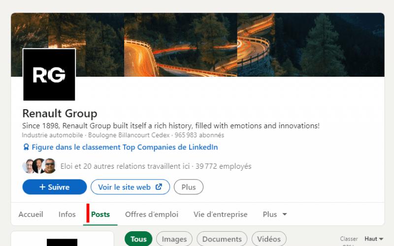 Espionnez les publicités Linkedin de vos concurrents ! 4