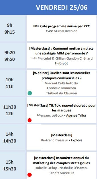 RDV le 22 Juin avec Seth Godin lors de l'Inbound Marketing France 2021 + ma conférence Social Selling & Growth Hacking 14