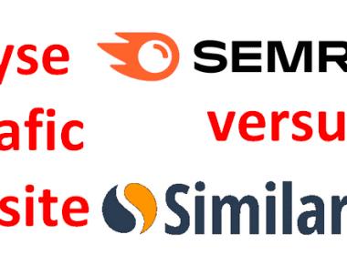 Quel est le meilleur outil gratuit pour analyser le référencement et le trafic d'un site web ? Semrush ou SimilarWeb ? 68