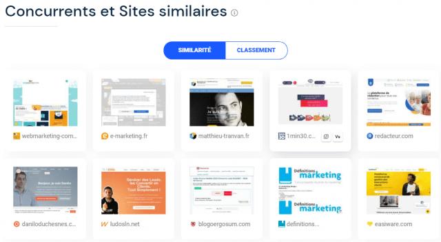 Quel est le meilleur outil gratuit pour analyser le référencement et le trafic d'un site web ? Semrush ou SimilarWeb ? 29