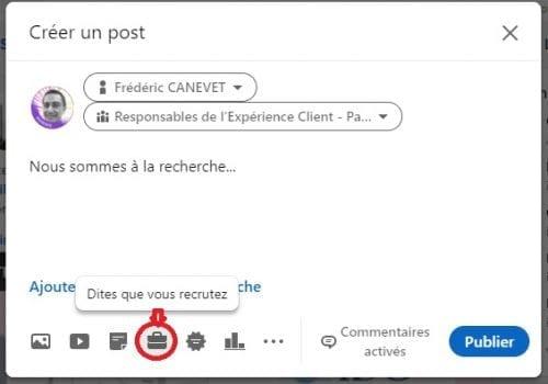 Comment ajouter le badge Hiring sur votre profil LinkedIn ? 7