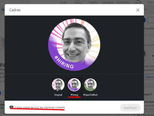 Comment ajouter le badge Hiring sur votre profil LinkedIn ? 13