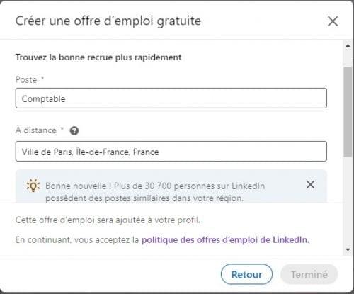 Comment ajouter le badge Hiring sur votre profil LinkedIn ? 8