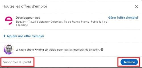 Comment ajouter le badge Hiring sur votre profil LinkedIn ? 21