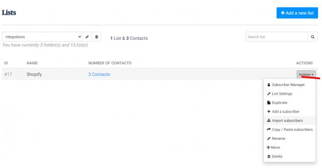 Envoyez des SMS et des emailings depuis Shopify grâce à Sendinblue ! 19