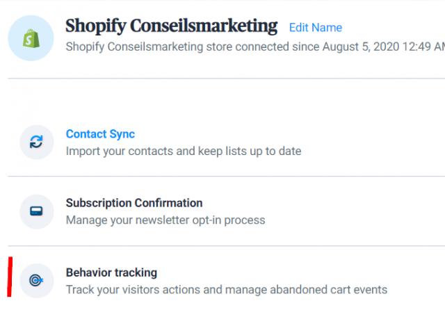 Envoyez des SMS et des emailings depuis Shopify grâce à Sendinblue ! 35