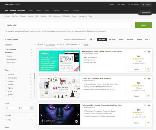 Comment créer un site web d'artiste peintre ? 10 conseils pour vendre ses tableaux en ligne ! 5