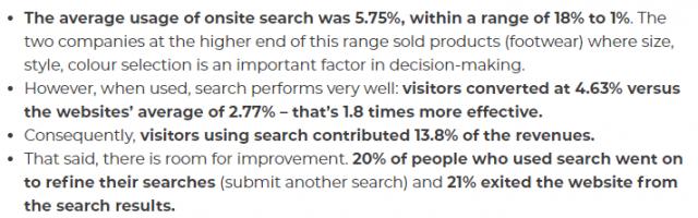 Etude sur les moteurs de recherche internes des sites internet + 8 conseils pour améliorer leurs performances ! 3